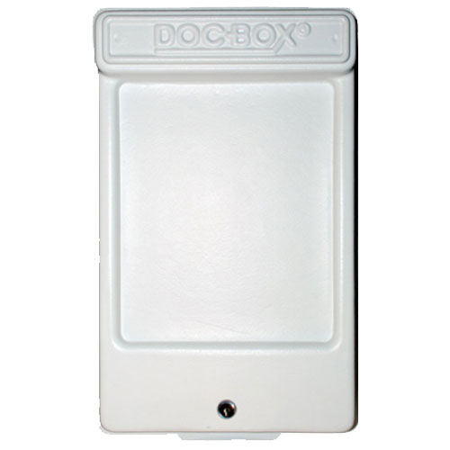 Doc-Box 2 with Lock Permit Holder Box Model 10117