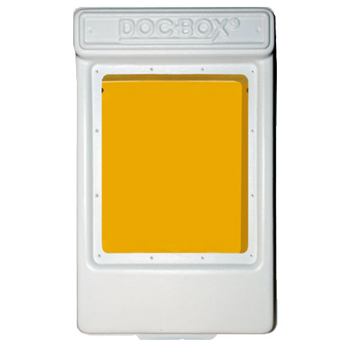 Doc-Box 2 with Window Permit Holder Box Model 10118