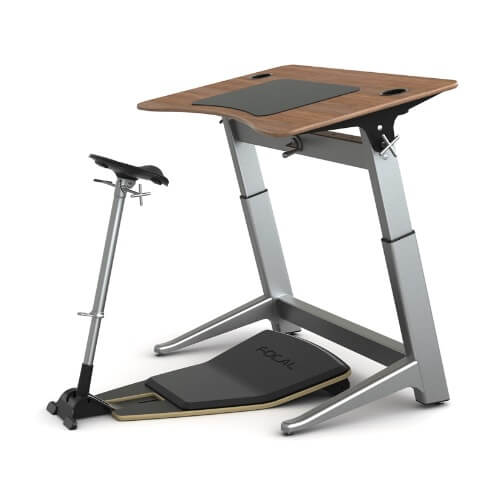 Safco Focal Locus 4 Standing Desk - 30 x 48 (4 Colors Available)