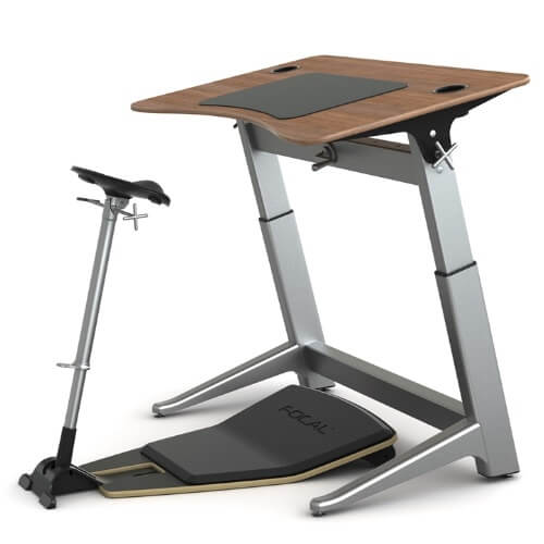 Safco Focal Locus 6 Standing Desk - 30 x 72 (4 Colors Available)