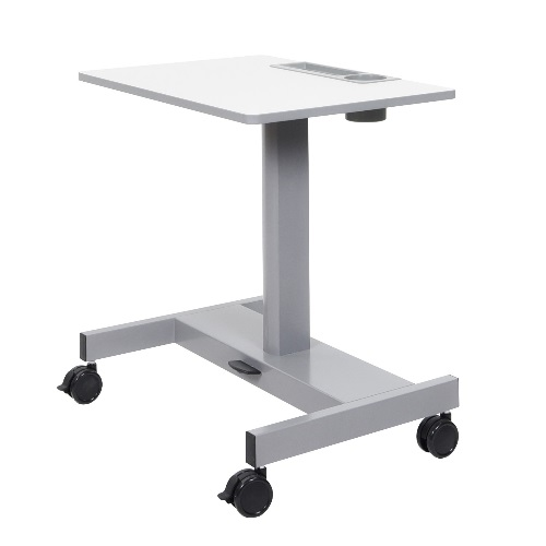 Luxor STUDENT-P - Sit-to-Stand Student Desk with Pneumatic Adjustment