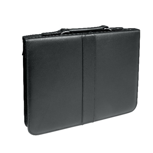 Alvin PCL1114 - Prestige Premier Black Series Leather Presentation Case - 11 x 14