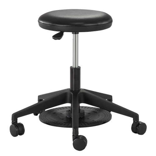 Safco Foot Pedal Lab Stool - 3437BL