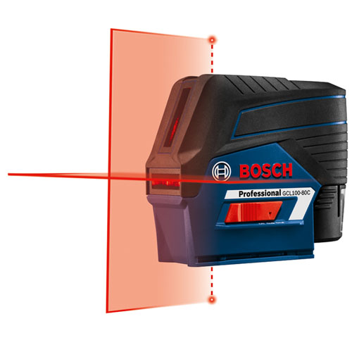 Bosch GCL100-80C 12V Cross-Line Laser with Plumb Points Review