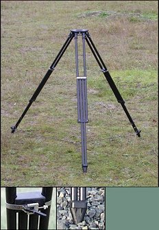 Dutch Hill DH1000CF Surveyor's Tripod with Composite Head