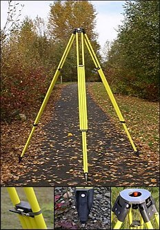 Dutch Hill Surveyors Tripod SLT5000 ES1463