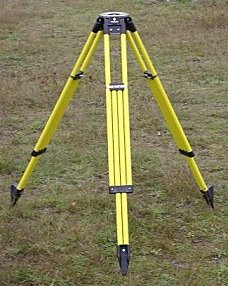 Dutch Hill Surveyor's Tripod with Composite Head GT2000