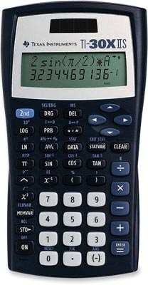 Texas Instruments TI-30XIIS Calculator ES10