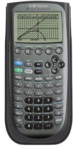 Texas Instruments TI-89 Titanium Graphing Calculator ES15
