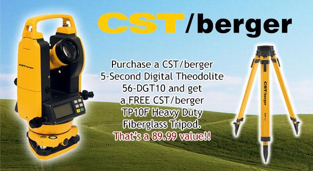 Cst Berger Digital Theodolite 56 Dgt10 Engineersupply