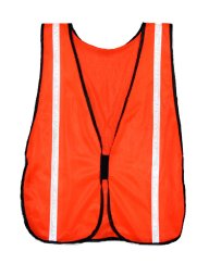 Presco Economy Mesh Safety Vest with Reflective Tape
