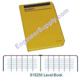 Sokkia Level Book 815250 ES1249
