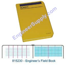 Sokkia Engineers Field Book 815230 ES1252
